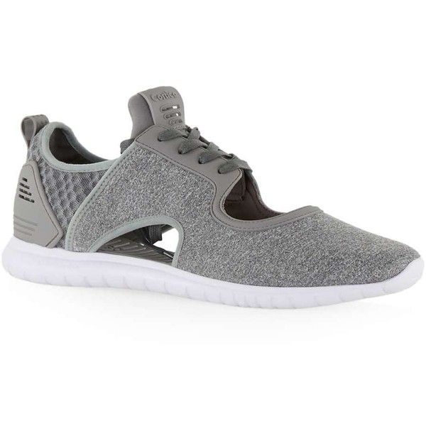TOPMAN Cortica Mid Grey Epic Runner Trainers ($96) ❤ liked on Polyvore featuring men's fashion, men's shoes, men's sneakers, grey, mens gray dress shoes, topman mens shoes, mens grey shoes and mens grey sneakers