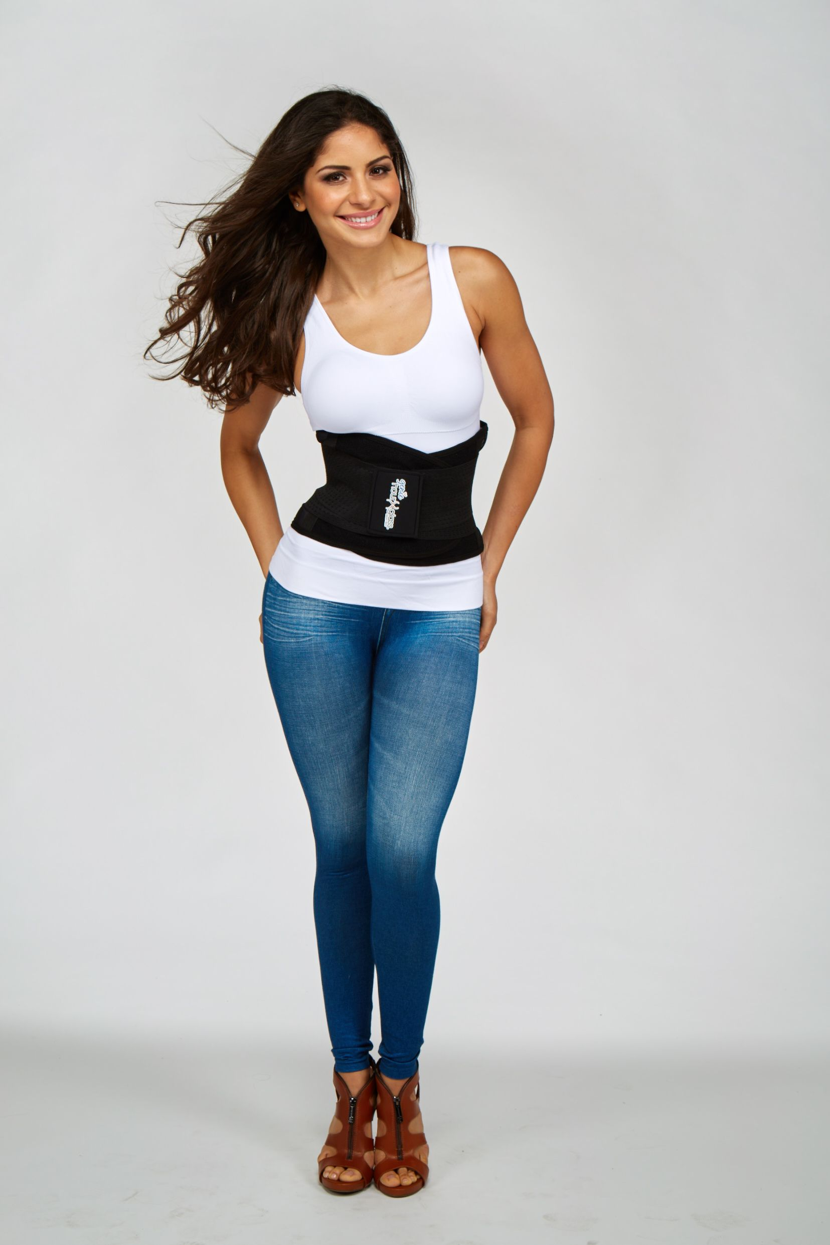 dd5c1cf8f8 The Genie Hourglass Waist Belt smoothes your midsection and creates an  hourglass shape!  WaistTrainer  WaistTraining  WaistGang  WaistGangSociety
