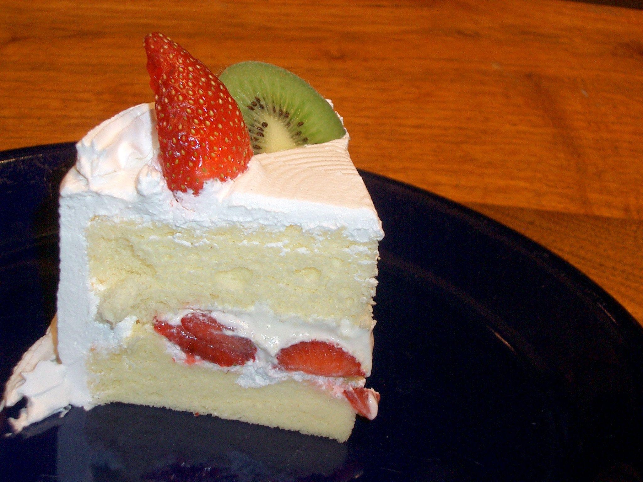 Strawberry Cream Cake from Golden Delight Bakery in Columbus Ohio