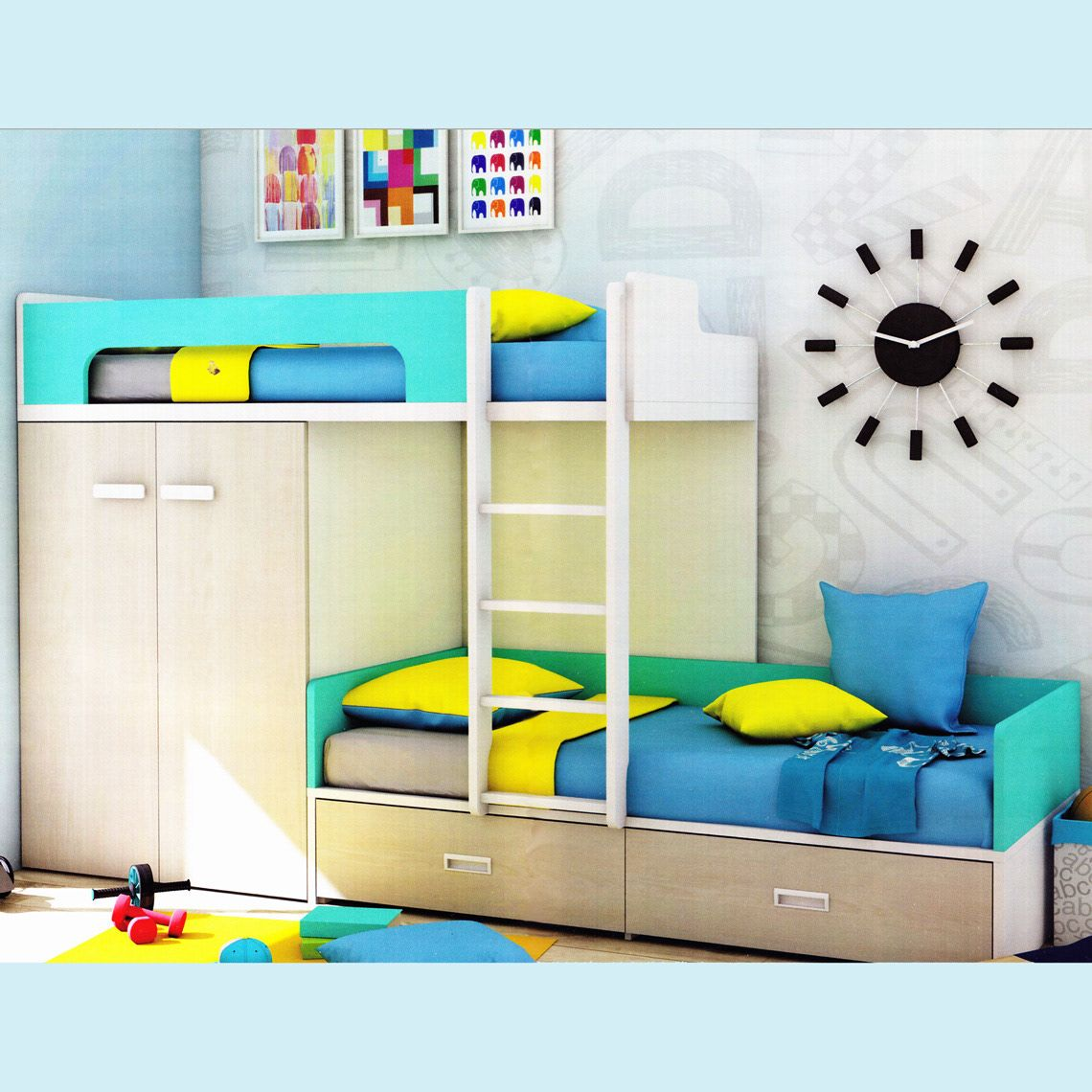If You Wish To Find The Best Quality Bed With Wardrobe Then You Can Get It From Us Without Any Problem At All Bunk Beds Kid Beds Bed