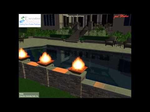 Custom Pool Design - Roman