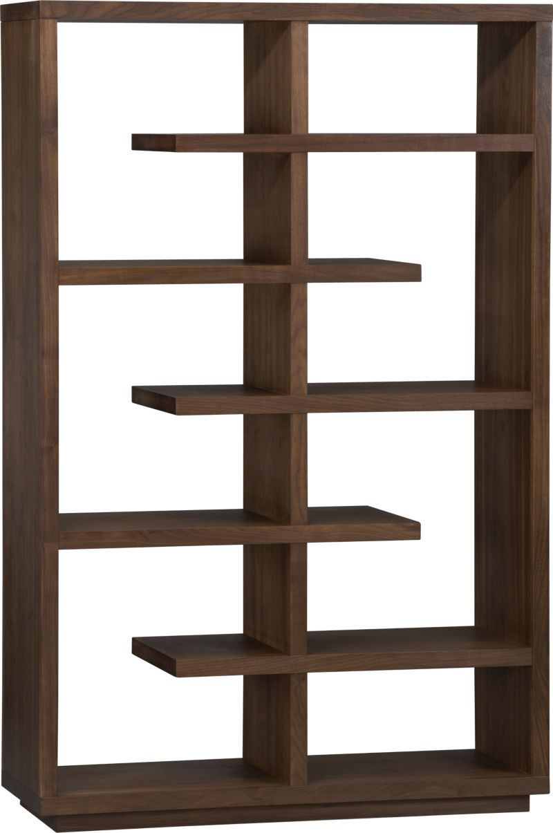 this bookcase elevate walnut