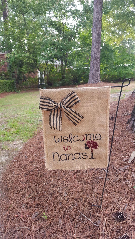 Gift For Mother Nana S Garden Flag