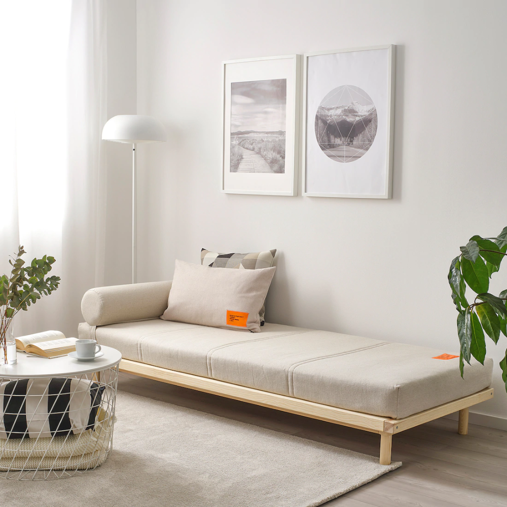 Markerad Daybed Ikea In 2020 Ikea Daybed Ikea Bed Diy Daybed