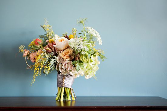 Gorgeous Blossom Sweet bouquet on Utah Bride Blog. Flower recipe! Lindsey Orton Photography