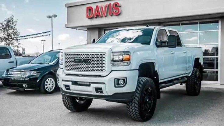 Magnificent Custom 2015 Gmc Sierra Hd Denali Totally Transformed