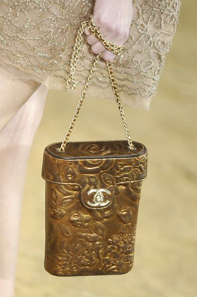 Chanel Adorable Little Gold Purse I See That Cc And Get Excited S Chained Handbags To For