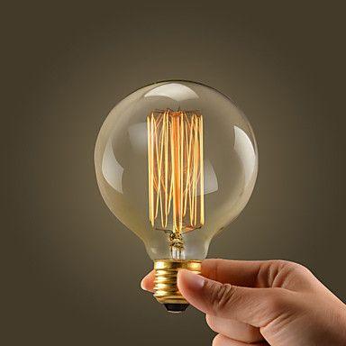 5 39 1pc 40 W E26 E26 E27 E27 G95 Warm White 2300 K Incandescent Vintage Edison Light Bulb 110 220 V 220 240 V 110 130 V Edison Light Bulbs Led Light Bulb Bulb