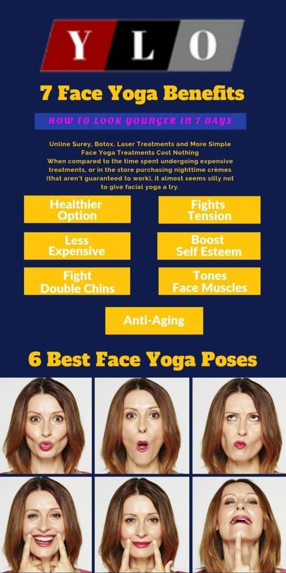 Exercises ones facial and neck muscles while maintaining a relaxed look. Facial yoga is a form of ex...