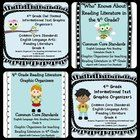 Save $4.00 by purchasing all four graphic organizer sets for fourth grade!  Included in this Mega Pack are 60 graphic organizers from the following...