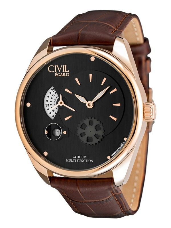 One winner of a Limited Edition Men's Watch in Rose Gold!  Worldwide Giveaway