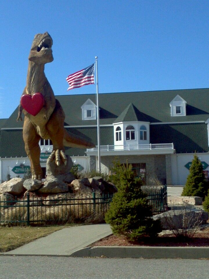 The Dinosaur Place Dinosaur Place Art Village Dinosaur