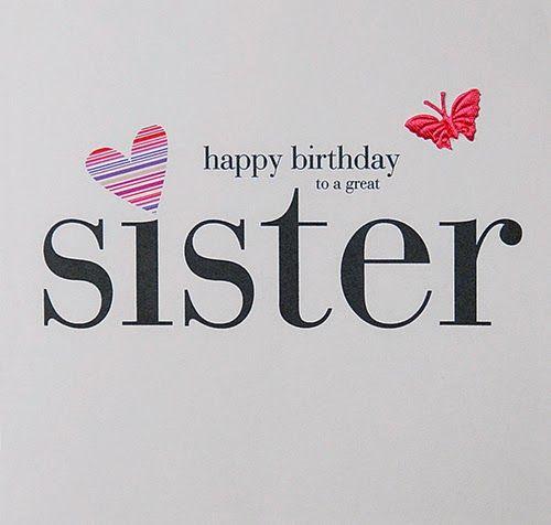 Birthday Wishes Elder Sister Happy Birthday Pinterest Happy