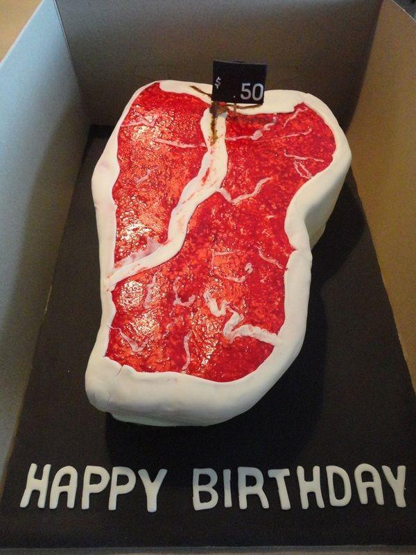 Miraculous Steak Birthday Cake First Birthdays Cake Special Occasion Funny Birthday Cards Online Inifofree Goldxyz