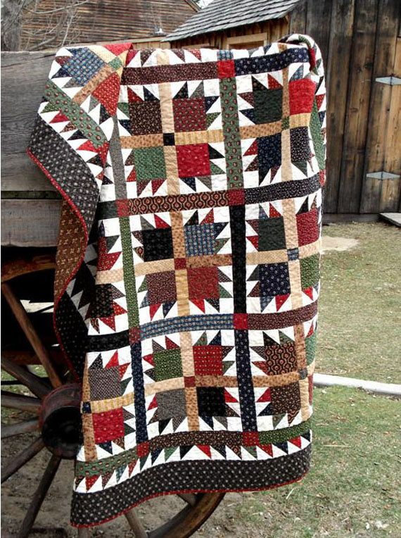 Grizzly Bear Quilt Pattern By Nelliesneedlequilts On Etsy