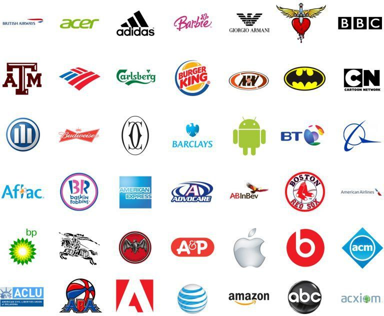 1000 Logos The Famous Brands and Company Logos in the