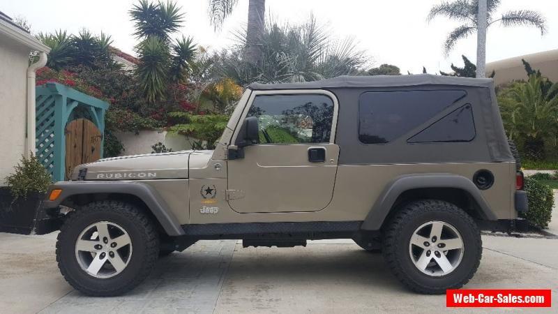 2005 Jeep Wrangler Jeep Wrangler Forsale Canada 2005 Jeep