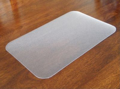 Floortex Desktex Anti Slip Backed Polycarbonate Desk Pad 29 X