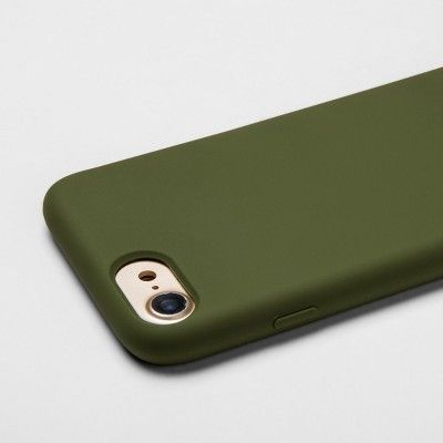 free shipping 586ae fc0a4 heyday Apple iPhone 8/7/6s/6 Silicone Case - Olive, Green | Products ...