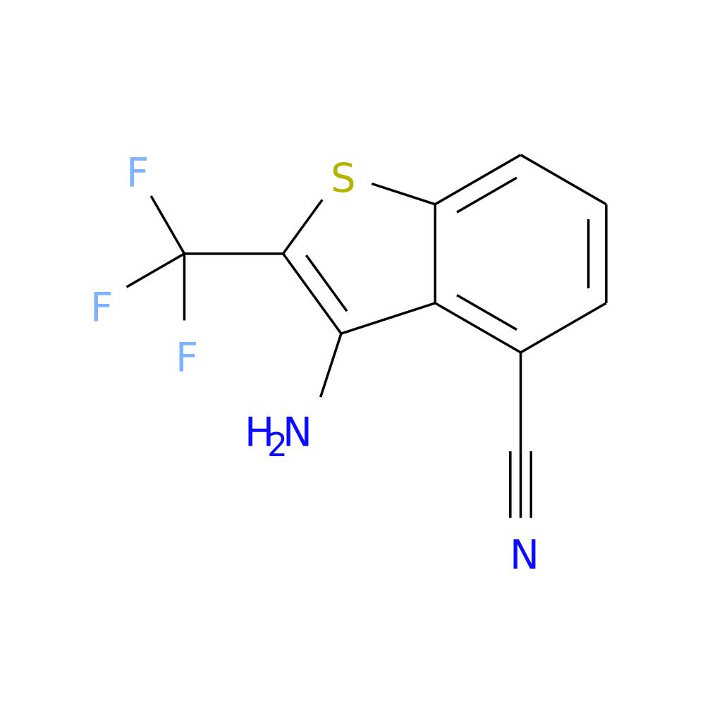 3-AMINO-4-CYANO-2-(TRIFLUOROMETHYL)BENZOTHIOPHENE is now  available at ACC Corporation