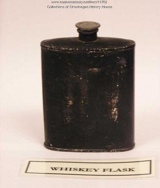 Civil War whiskey flask