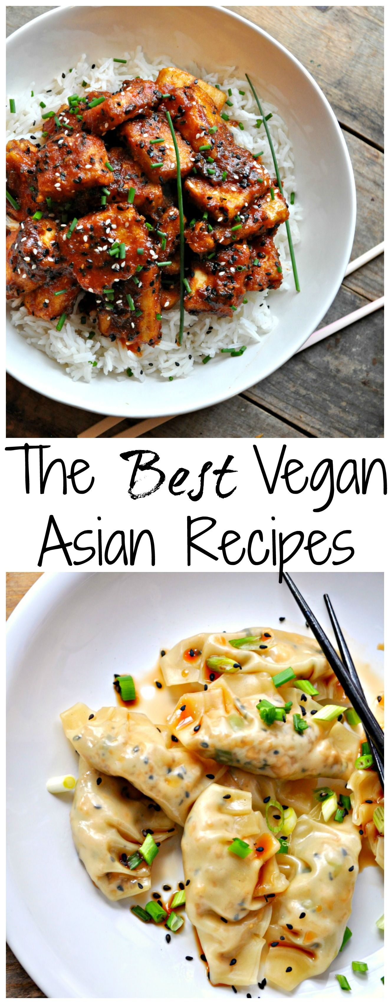 The Best Vegan Asian Recipes images