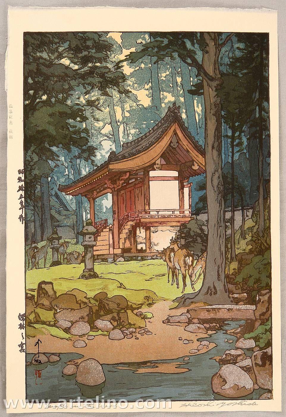 Hiroshi Yoshida - Google Woodblock Prints Japanese Drawings Japan Art