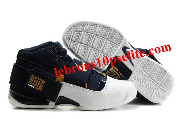 buy online fd679 37f26 Nike Zoom LeBron Soldier IV White Navy Gold