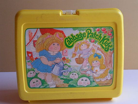 Vintage Cabbage Patch Kids Lunchbox And Thermos By Pennypickers 12 00 Cabbage Patch Kids Patch Kids Kids Lunchbox