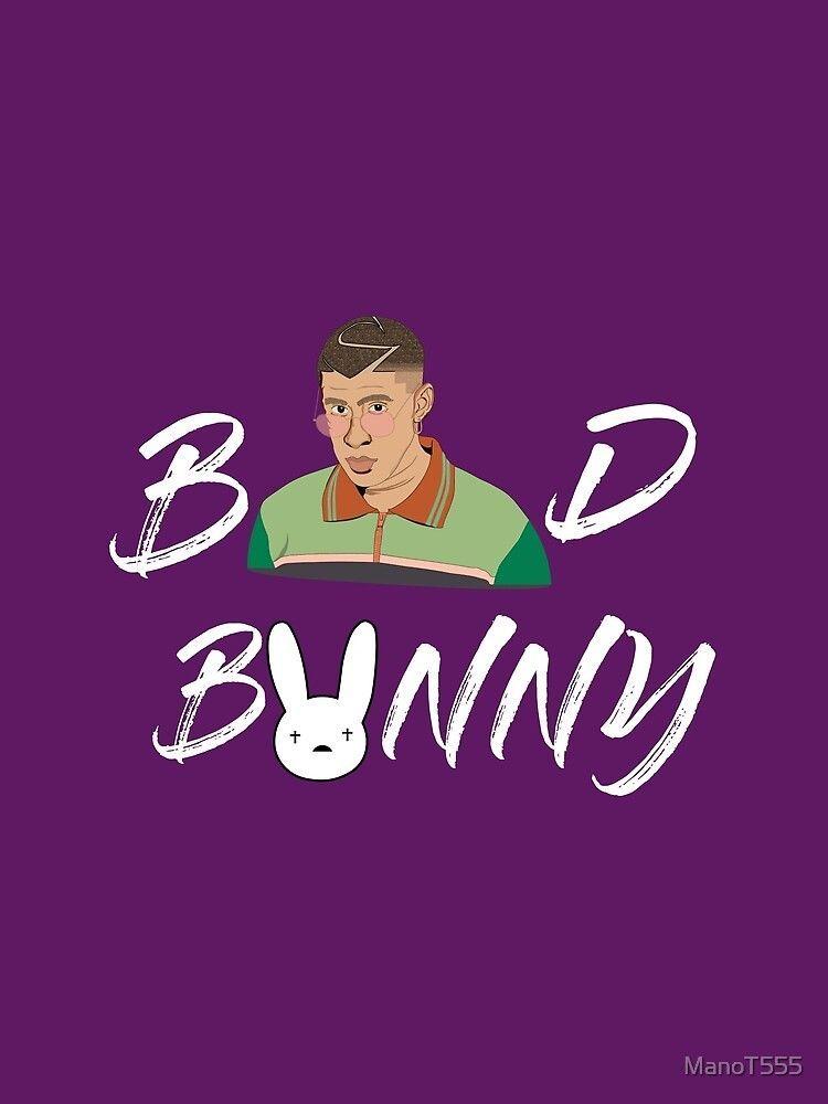 Badbunny Badbunny Bad Bunny Logo Bunny Wallpaper Disney Character Drawings Bunny Poster