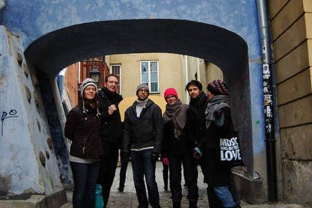 Warsaw's Free Tour. Go with the Orange Umbrella Tours run by knowledgeable local tours guide who show the best of the renovated Old Town. They are the best. And they give away free vodka!