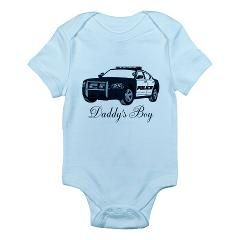 Daddy's Boy Police Cruiser Infant Bodysuit > Infant bodysuits > The Art Studio by Mark Moore