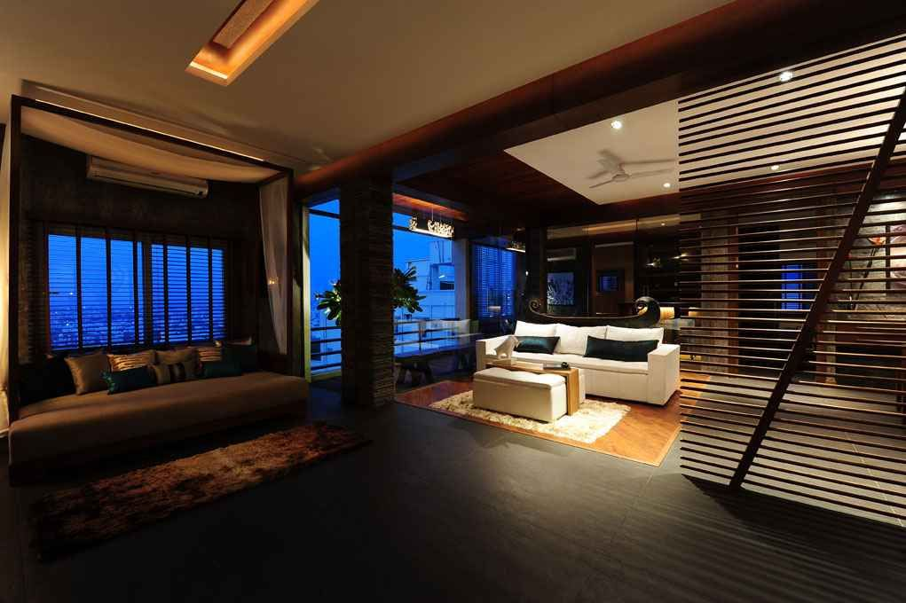 Zingyspotlight Today Beautiful Penthouse Design And Developed By Aamir Sharma In Hyderabad Andhra Pradesh Clic Interior Architecture Interior Design House
