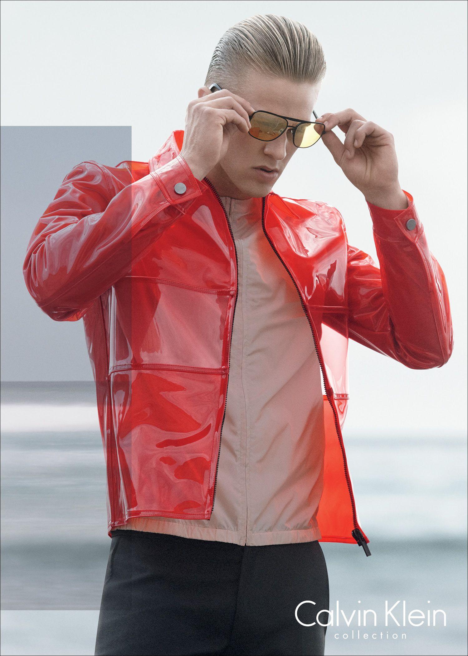 Calvin klein leather jacket 2015