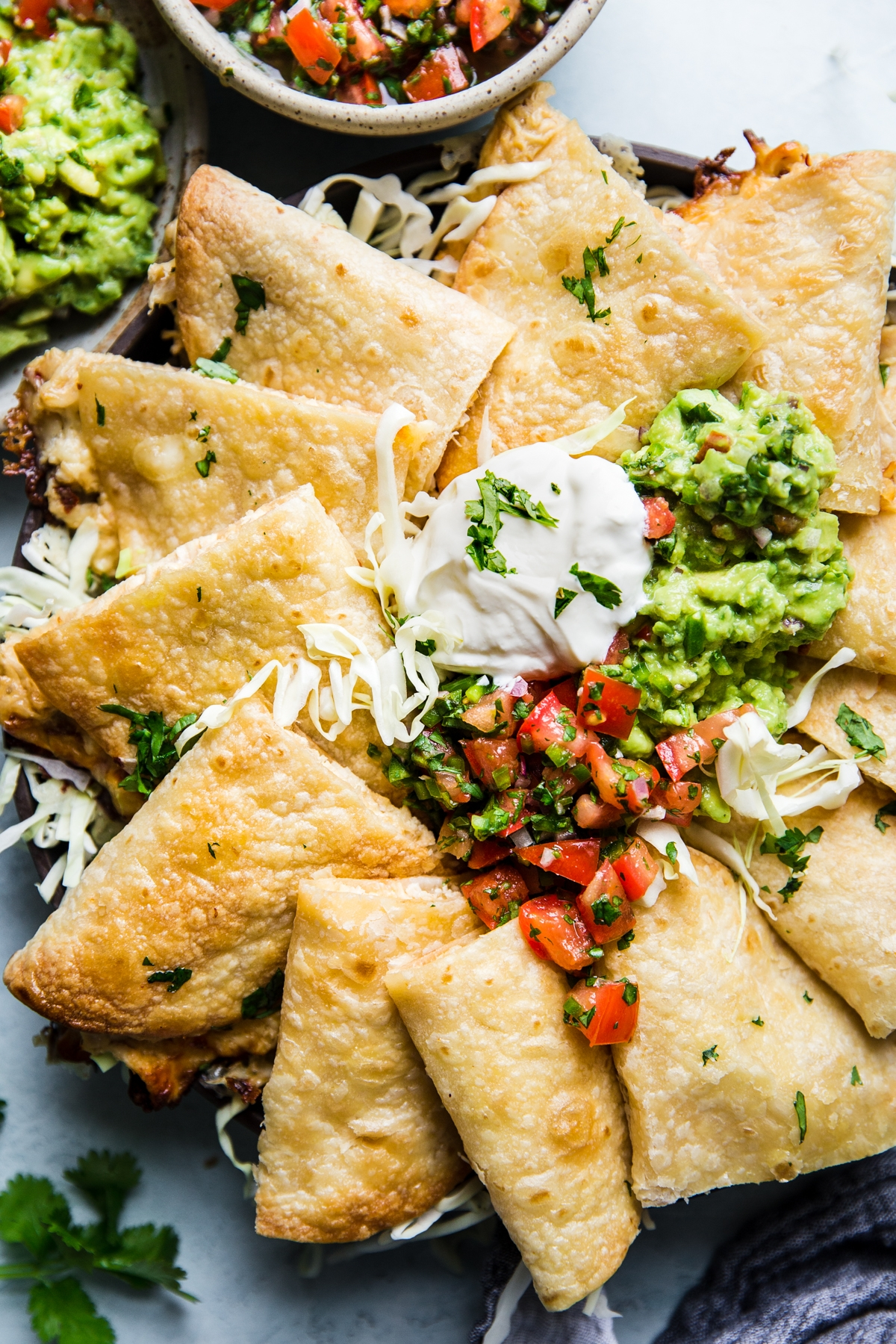 Easy Baked Chicken Quesadilla Recipe images