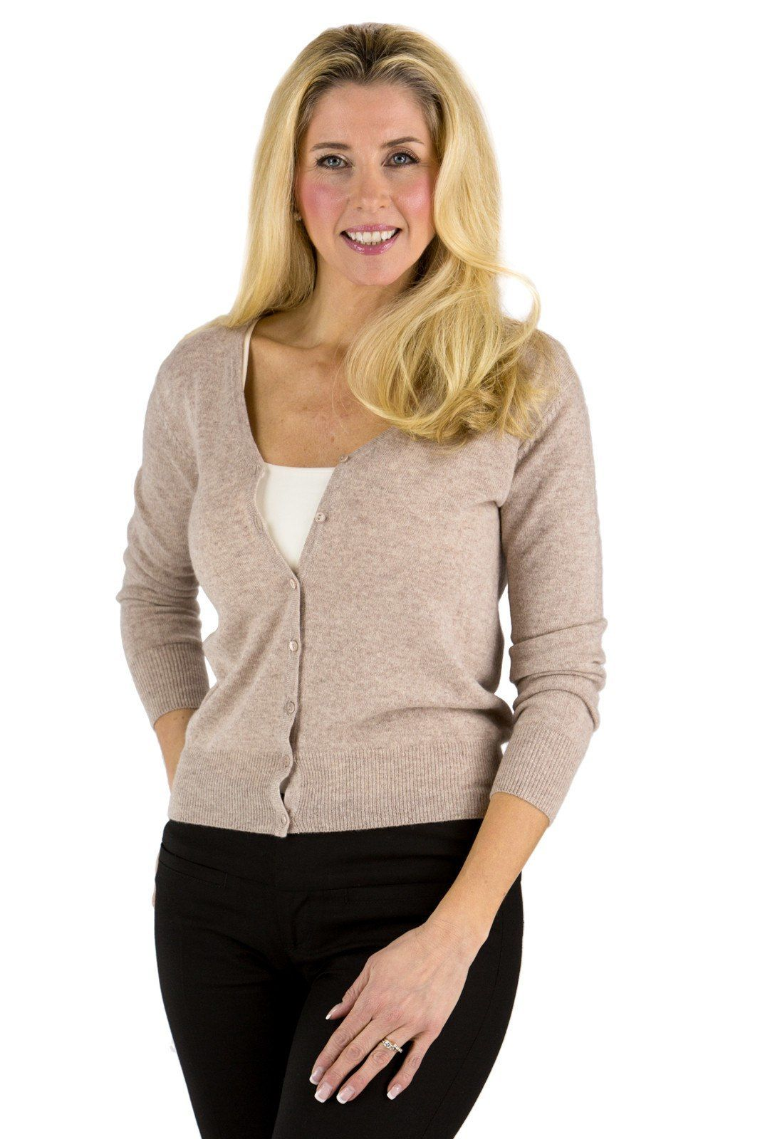 Women's 100% Cashmere Cardigan Sweater | Cardigans For Men ...