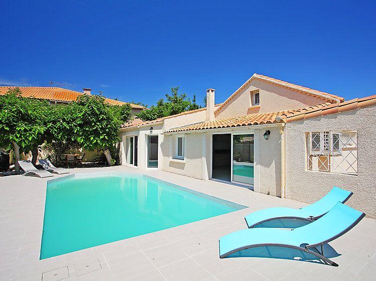 Location Cap d\u0027Agde Interhome, Maison de vacances Villa du Littoral - location maison cap d agde avec piscine