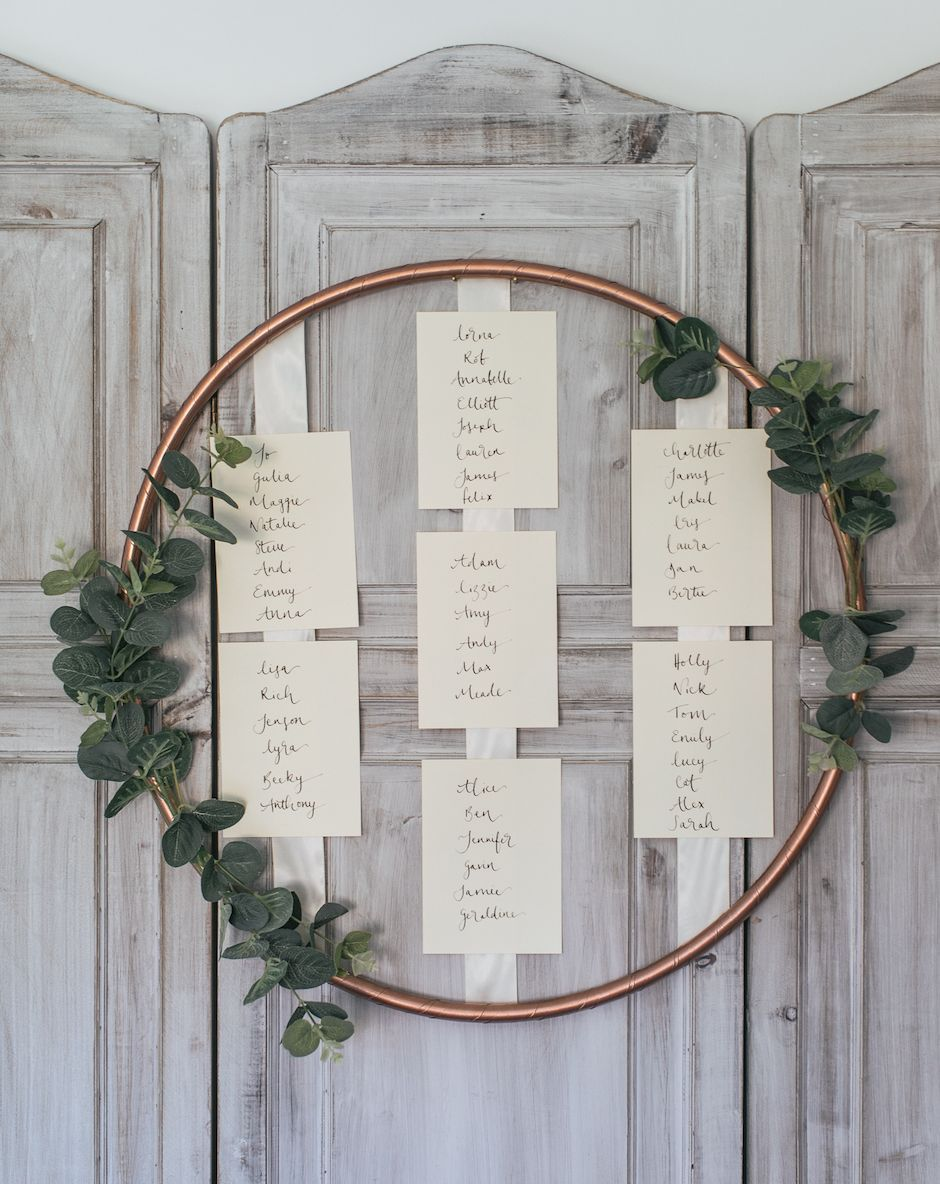 Hula Hoop Table Plan DIY Tutorial {Make Your Own for £30}