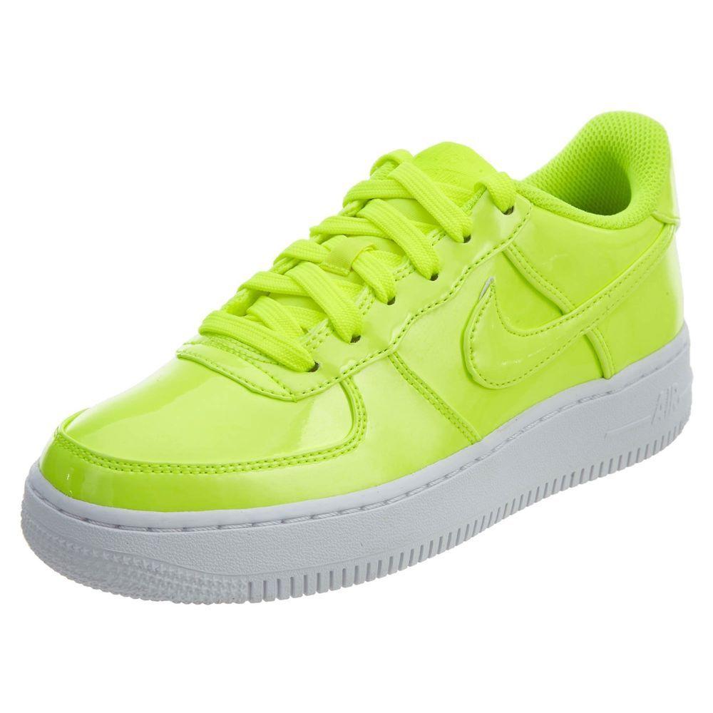 eBay  Sponsored Boys Nike Air Force 1 LV8 UV (GS) AO2286-700 Volt Volt  Brand New Size 6.5Y 5baa516d0