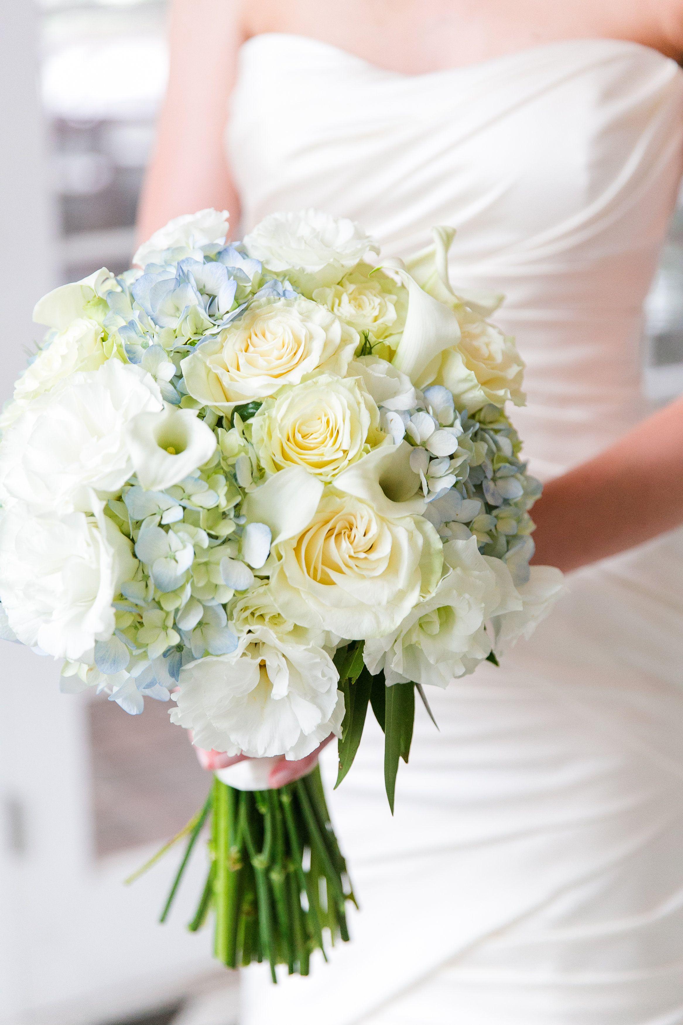 Light Blue Hydrangea Wedding Bouquets – OOSILE |Light Blue Hydrangea Bouquet