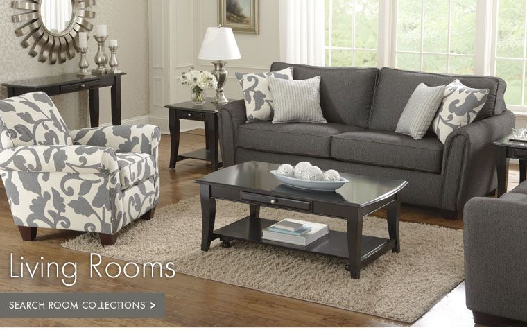 Colette Grey 2 PC Sofa U0026 Loveseat Package   Value City Furniture | Hizzy |  Pinterest | Living Room Furniture, City Furniture And Living Rooms Part 88