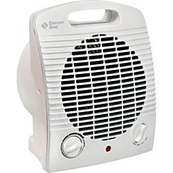 Turbro Neon 900 Watt Electric Ptc Ceramic Fan Forced Space Heater With 3 Led Lighting Indicators Nw10 The Home Depot Heater Space Heater Electric Fan