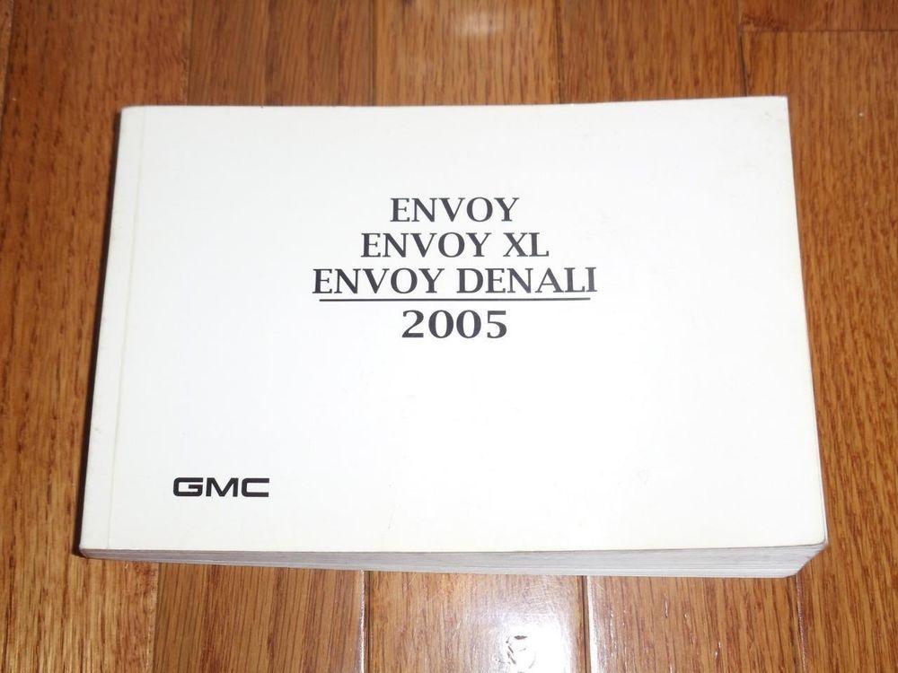 2005 gmc envoy envoy xl envoy denali owners manual book guide rh pinterest co uk 2005 GMC Owner's Manual GMC Envoy Repair Manual PDF