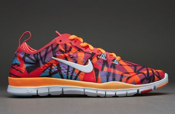 nike free 5.0 tr fit 4 prt red print trainers hate
