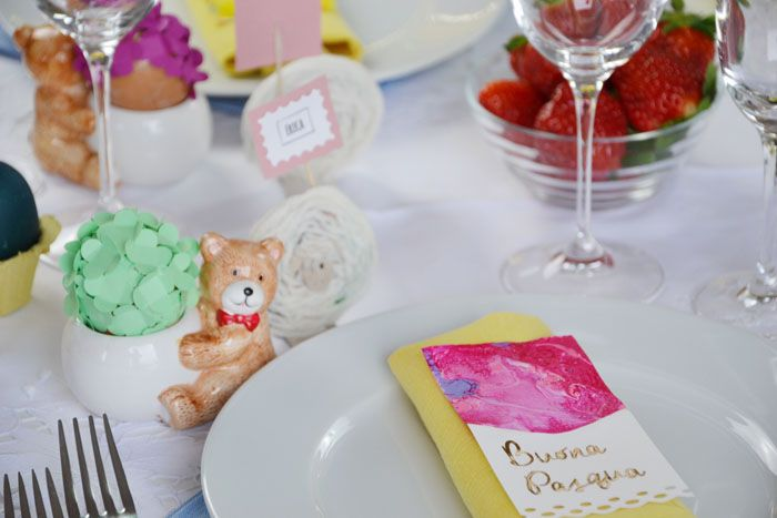 LA TAVOLA DI PASQUA Easter DIY - ©Gucki.it