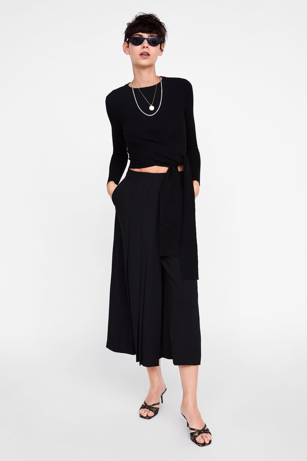 190b3ed3 Pleated wide leg pants in 2019 | Online Shopping | Wide leg pants ...