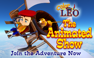 Just found the website now I will have to find the Color with Leo Animated Educational Show For Kids!
