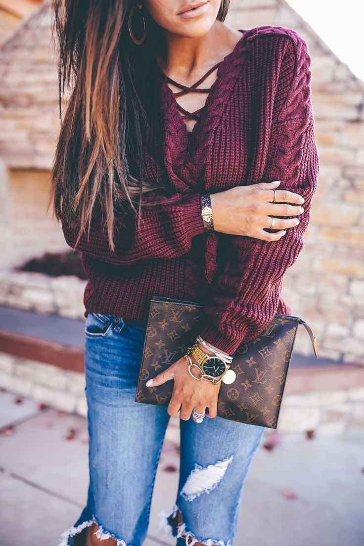 Styling Boyfriend Jeans During This Fall | Fashion Looks ...