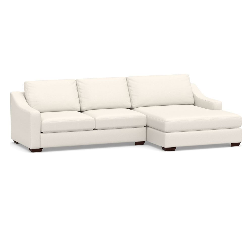 Big Sur Slope Arm Upholstered Right Arm Grand Sofa With Double