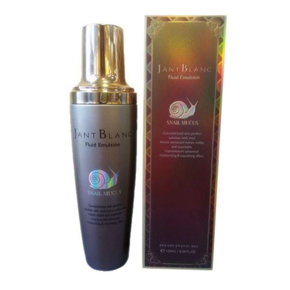 Jant Blanc Fluid Emulsion Snail Mucus 130ml 4 39oz Mucus Korean Cosmetics Fluid